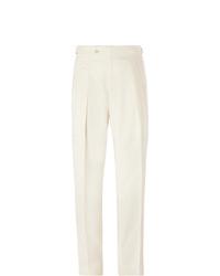 Pantalon de costume blanc Richard James