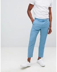 Pantalon de costume bleu clair ASOS DESIGN