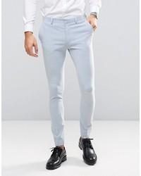 Pantalon de costume bleu clair Asos