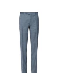 Pantalon de costume bleu clair Canali