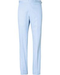 Pantalon de costume bleu clair Richard James