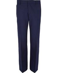 Pantalon de costume bleu marine original 478890