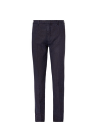 Pantalon de costume bleu marine Boglioli