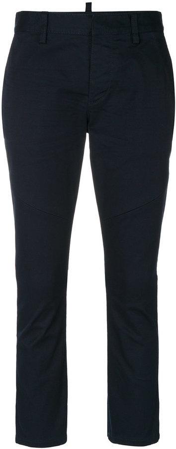 Pantalon de costume bleu marine Dsquared2