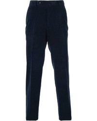 Pantalon de costume bleu marine Ermenegildo Zegna