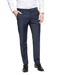 Pantalon de costume bleu marine Esprit