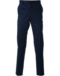 Pantalon de costume bleu marine Etro