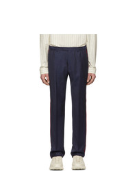Pantalon de costume bleu marine Gucci
