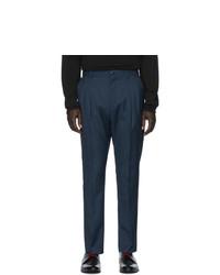 Pantalon de costume bleu marine Hugo