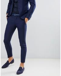 Pantalon de costume bleu marine Jack & Jones