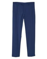Pantalon de costume bleu marine Mango