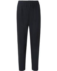 Pantalon de costume bleu marine Mansur Gavriel