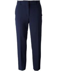 Pantalon de costume bleu marine MSGM