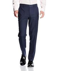 Pantalon de costume bleu marine New Look