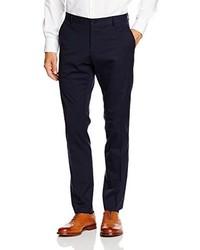Pantalon de costume bleu marine Selected