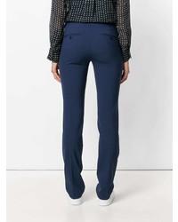 Pantalon de costume bleu marine Theory