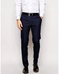 Pantalon de costume bleu marine Ted Baker
