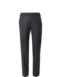 Pantalon de costume bleu marine Tom Ford