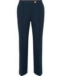 Pantalon de costume bleu marine Tory Burch