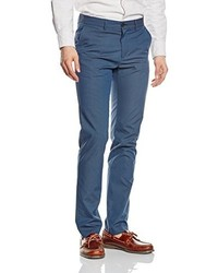 Pantalon de costume bleu Benetton