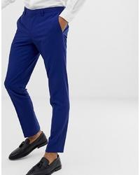 Pantalon de costume bleu Burton Menswear