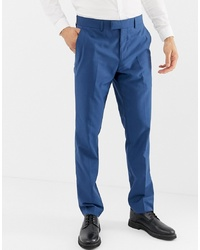Pantalon de costume bleu Farah Smart