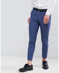 Pantalon de costume bleu MOSS BROS