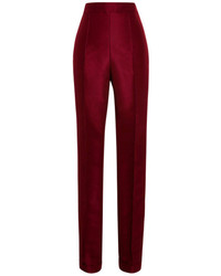 Pantalon de costume bordeaux
