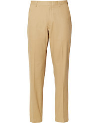 Pantalon de costume brun clair