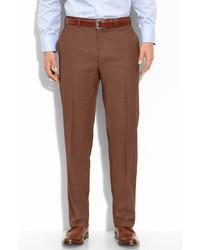 Pantalon de costume brun