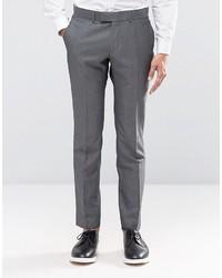 Pantalon de costume écossais gris foncé Ben Sherman