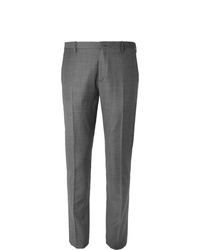 Pantalon de costume écossais gris Paul Smith
