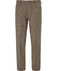 Pantalon de costume écossais marron J.Crew