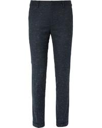 Pantalon de costume en laine bleu marine Paul Smith