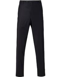 Pantalon de costume en laine bleu marine Pt01