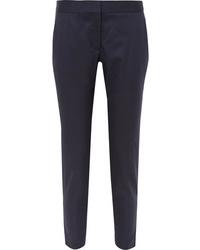 Pantalon de costume en laine bleu marine Stella McCartney