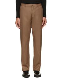 Pantalon de costume en laine brun 08sircus
