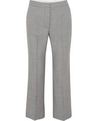 Pantalon de costume en laine en pied-de-poule noir Stella McCartney
