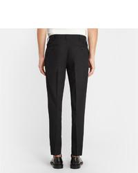 Pantalon de costume en laine gris foncé Dolce & Gabbana