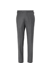 Pantalon de costume en laine gris foncé Kingsman