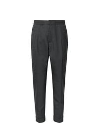 Pantalon de costume en laine gris foncé Officine Generale
