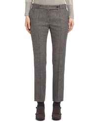 Pantalon de costume en laine gris