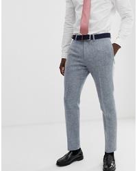 Pantalon de costume en laine gris ASOS DESIGN