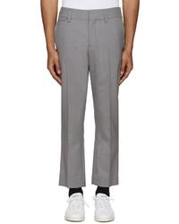 Pantalon de costume en laine gris Marc Jacobs