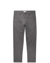 Pantalon de costume en laine gris Nn07