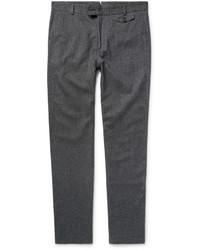 Pantalon de costume en laine gris Oliver Spencer