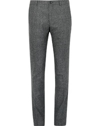 Pantalon de costume en laine gris Paul Smith