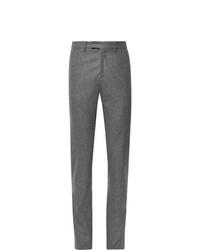 Pantalon de costume en laine gris Salle Privée