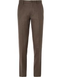 Pantalon de costume en laine marron foncé J.Crew