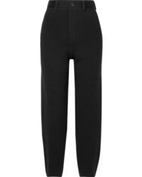 Pantalon de costume en laine noir Balenciaga
